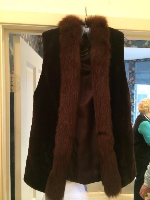 Good-looking Neiman Marcus vest