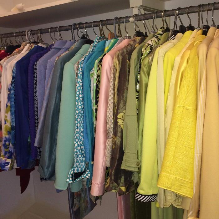 Lovely selection of clothes