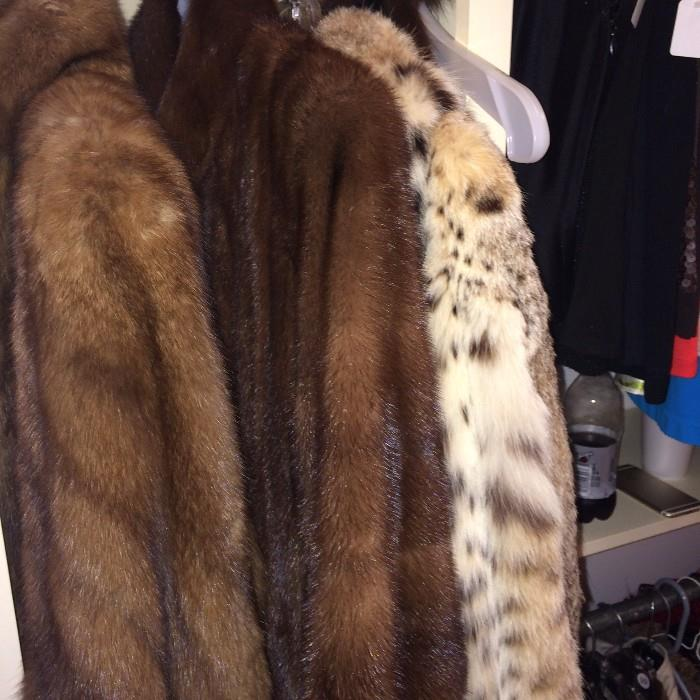 Other fur coats are available.