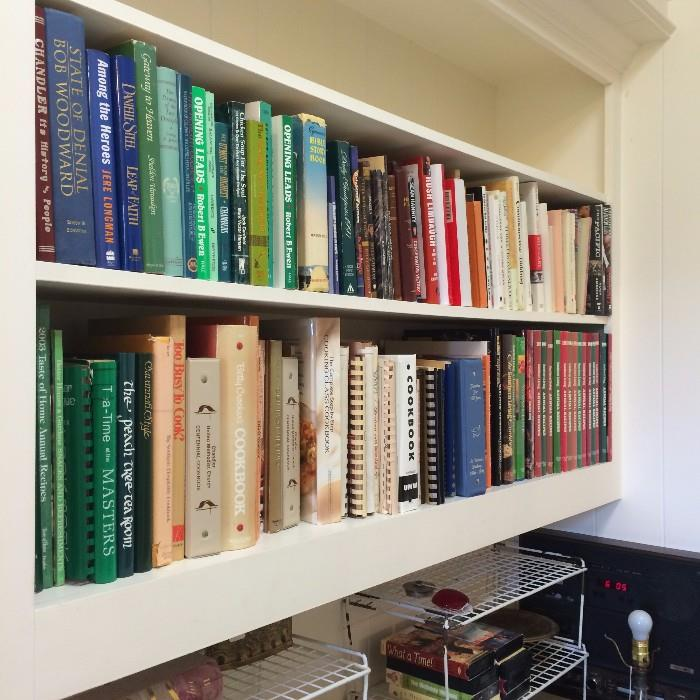 Great selection of cookbooks