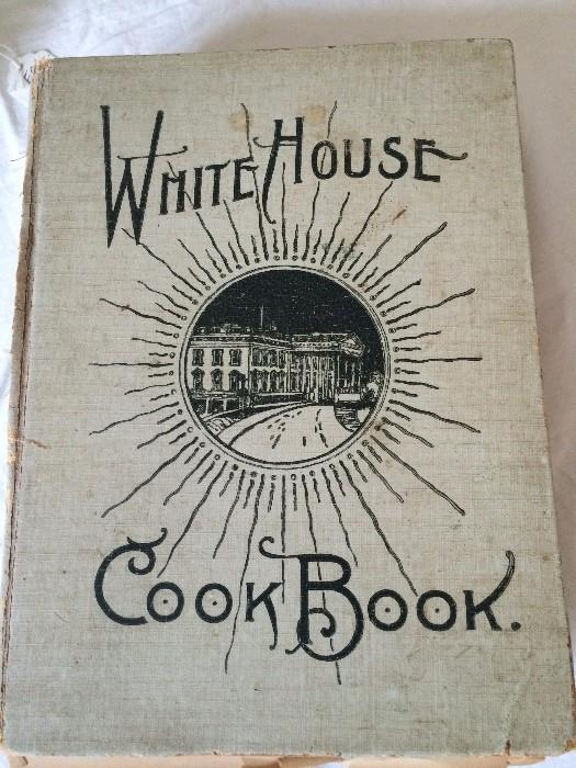 The White House Cook Book - first written in 1887
