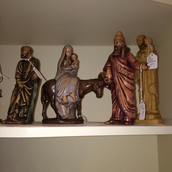Part of the Christmas decorations