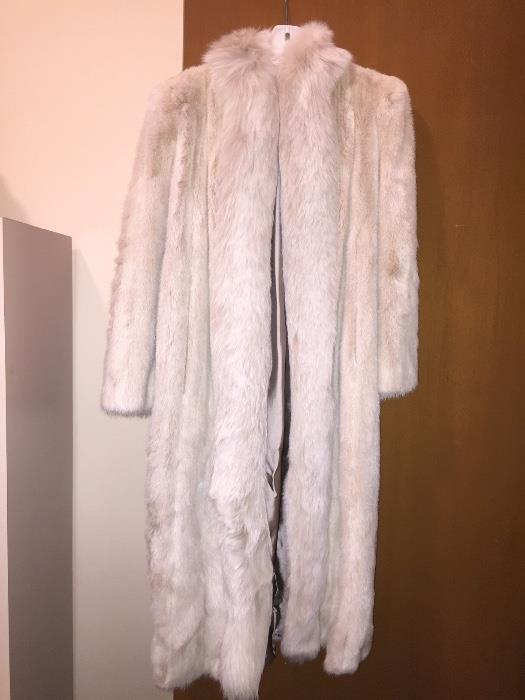 Gorgeous full length mink coat