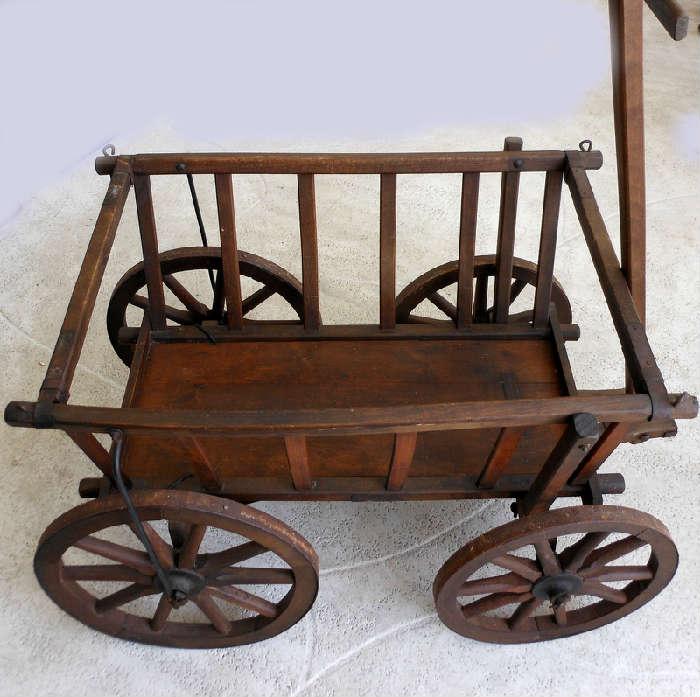 Great Antique Goat Cart