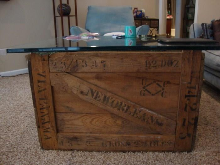 Old Crate Coffee Table
