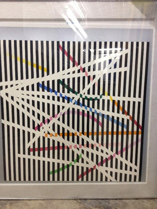 Agam signed and numbered Lithographs