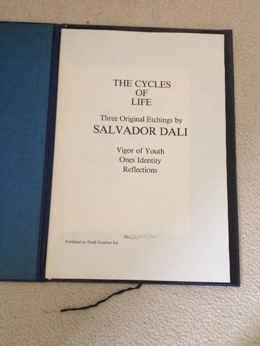 Dali Cycles of Life portfolio