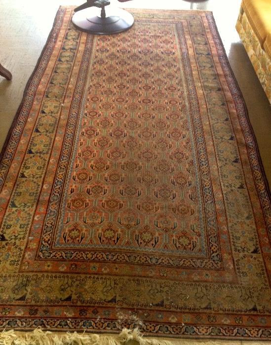 6x9 hand made rug