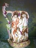 Antique ,early mark, Capodimonte large tankard