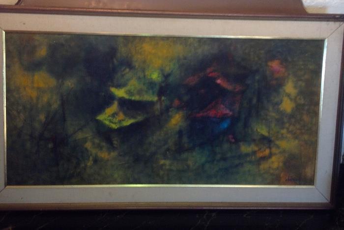 Lebadang  original oil painting