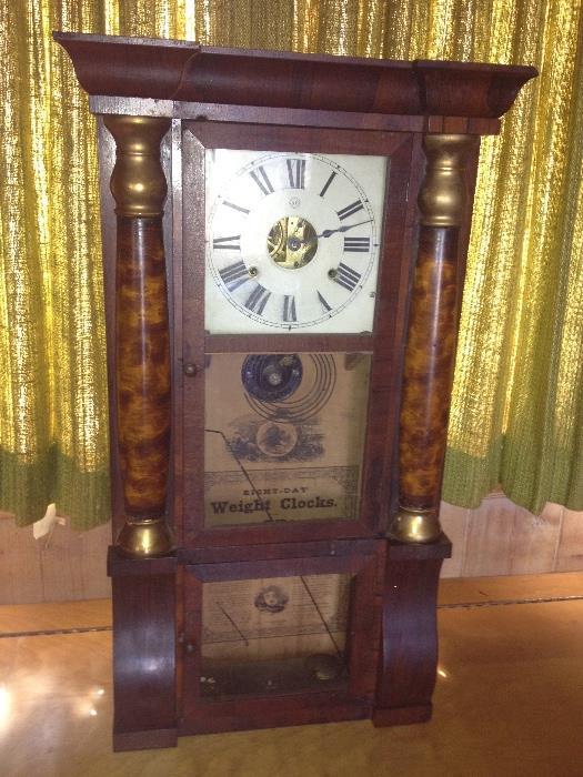 Large Seth Thomas clock,  Needs repair