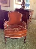 Louis XV bergere excellent condition circa 1780's