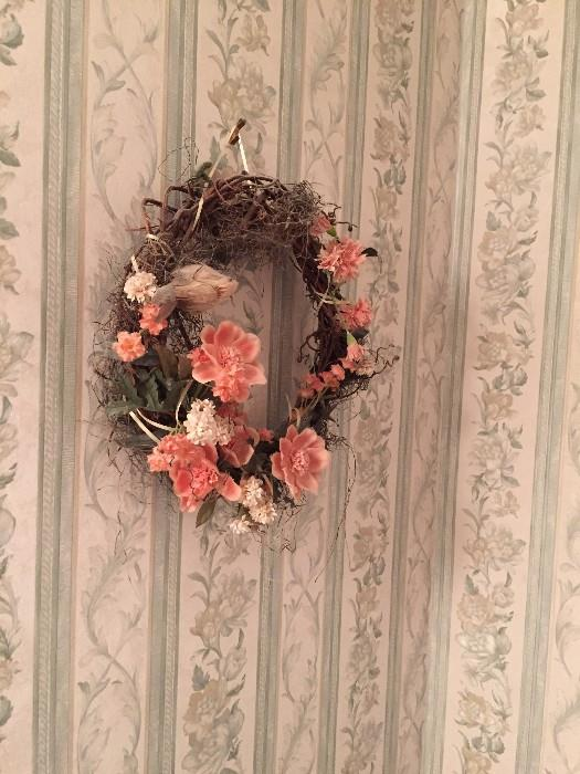 FLOWER WREATH ( HOME DECOR')