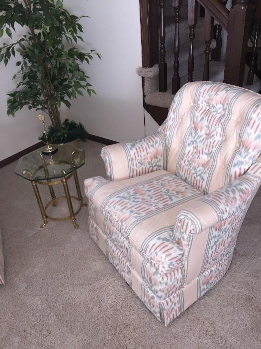LIVING ROOM CHAIR ( 2 AVAILABLE)