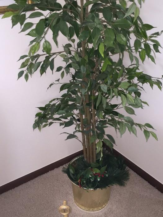 FAUX POTTED TREE ( HOME DECOR')