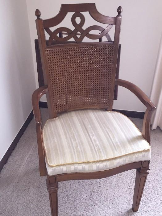 CANE BACK DINING ROOM CHAIR