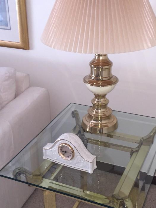 LENOX CLOCK / STIFFEL LAMP