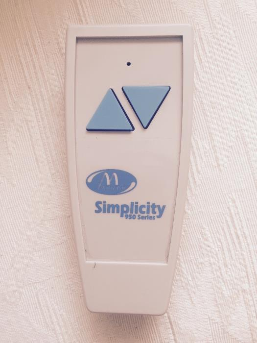 STAIR LIFT- MINIVATOR SIMPLICITY 950 SERIES STRAIGHT STAIRLIFT