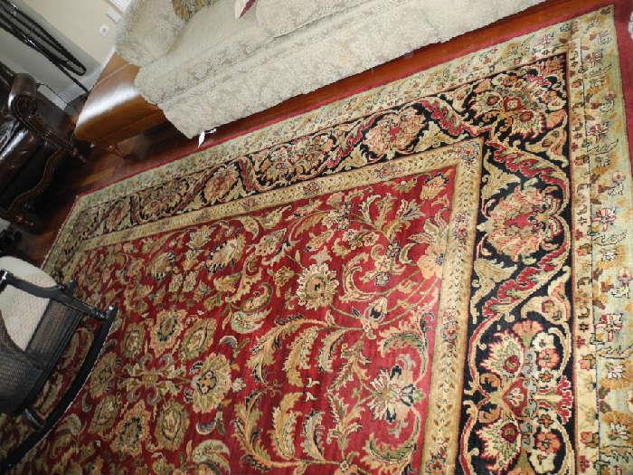 Several beautiful rugs