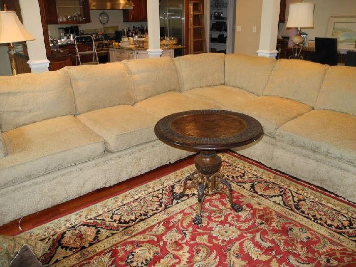 Beautiful huge sectional