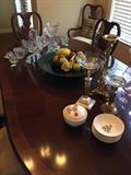 Usa , Ceramic fruit crystal large bowl,