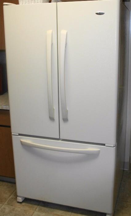 Amana side-by-side Refrigerator Freezer