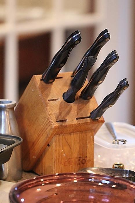 Cutco knife set