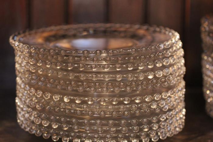 we have literally HUNDREDS of plates in Imperial Candlewick - perfect for a wedding reception or for a catering business