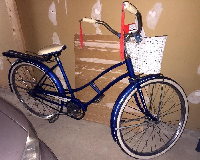 vintage J.C. Higgins girl's bike