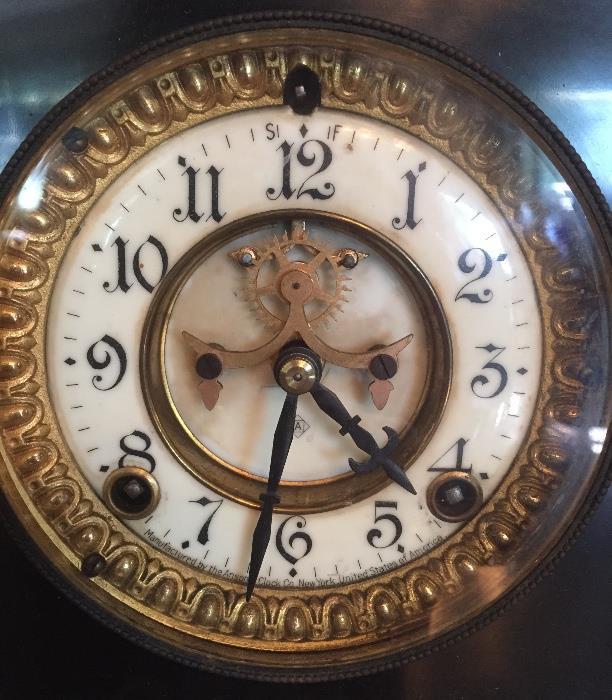 Face of Ansonia Clock