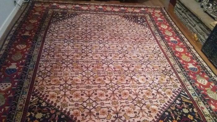 8' x 12' handwoven Persian Rug, great colors!