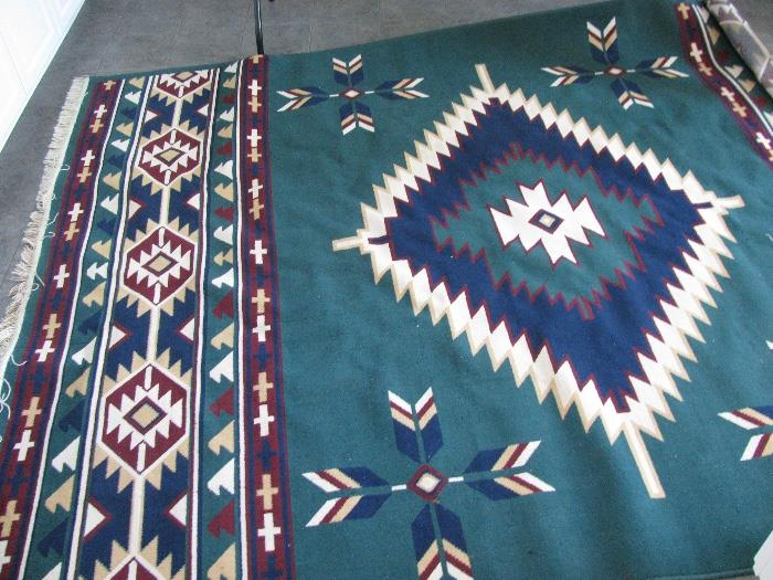 Several Rugs in different sizes