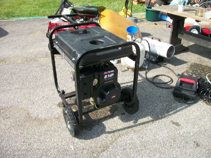 generator Very Nice condition and shape
