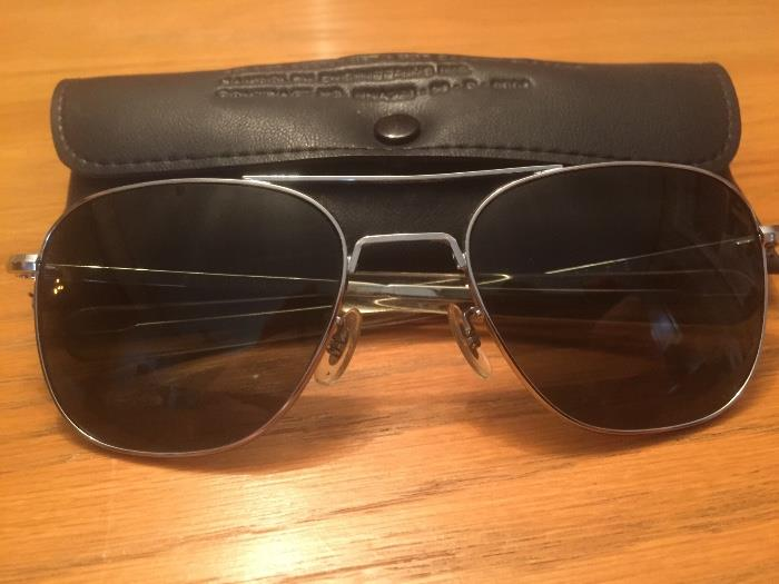 Vintage aviator glasses one of two pairs
