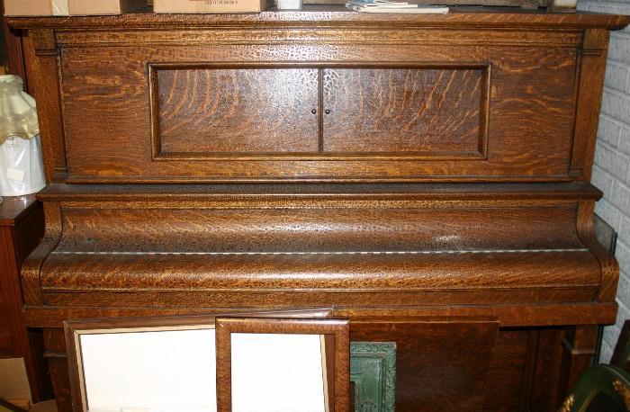 """Starck"" Oak Player Piano"