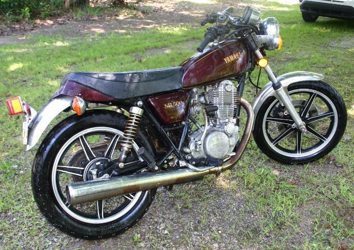 1980 Yamaha 500