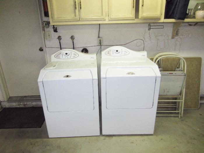 Maytag Neptune matching washer/dryer set