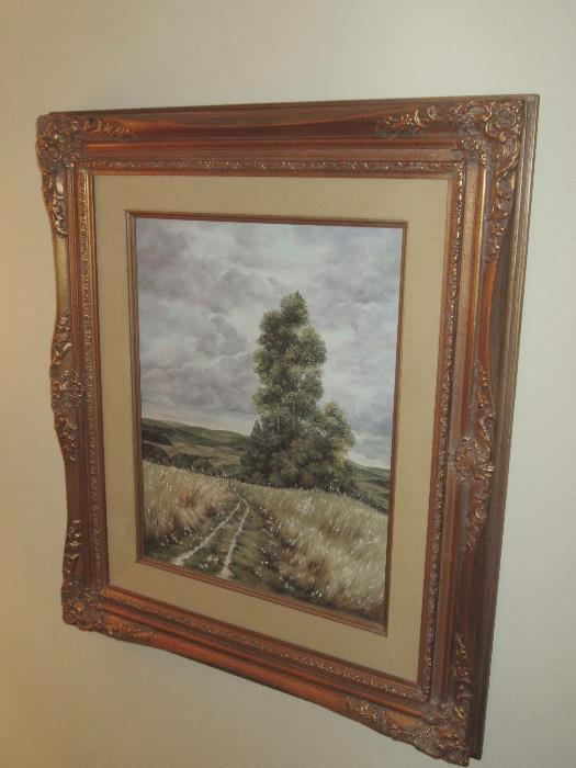 Original oil by Helen Miles, noted City of Orange artist
