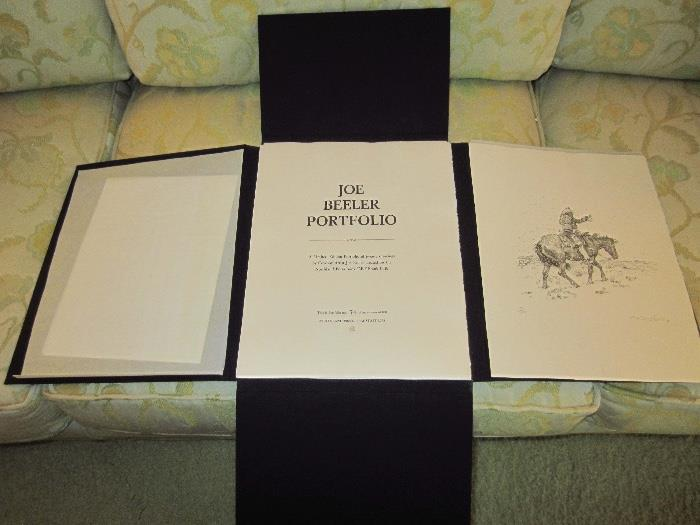 Joe Beeler limited edition portfolio