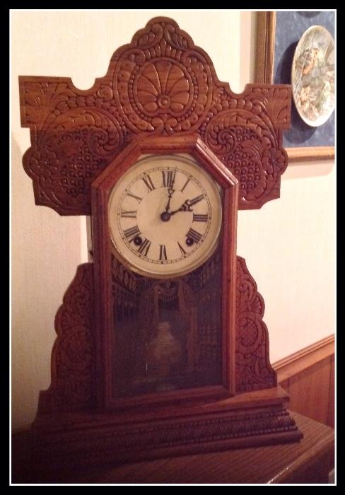 Beautiful old clock