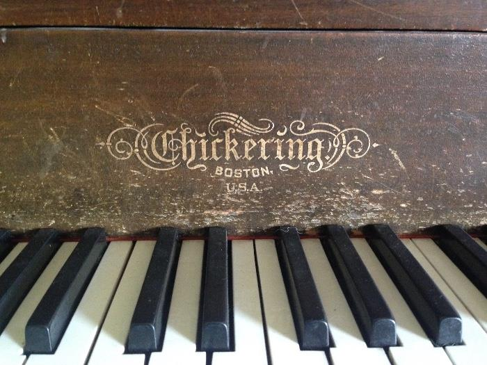 Checkering Grand Piano circa 1925