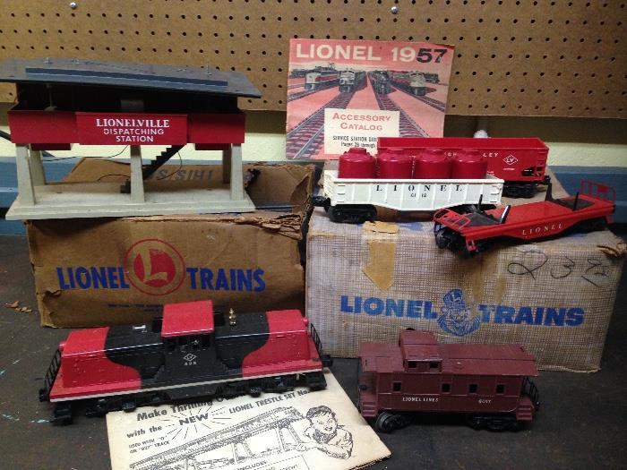 Lionel Train Set 1957