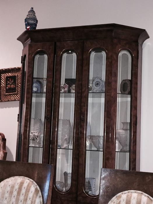 MASTER CRAFT DISPLAY CABINET