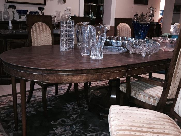 MASTERCRAFT VINTAGE DINING ROOM SET