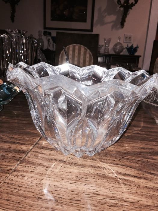G. DURAND CRYSTAL BOWL