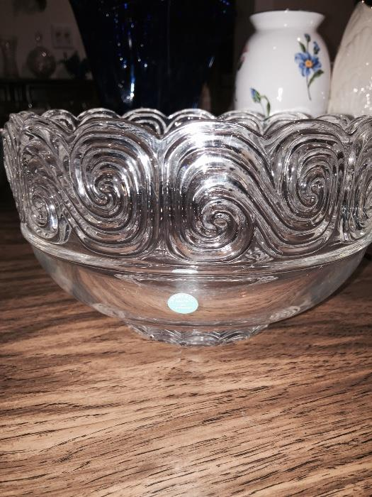 LOUIS COMFORT TIFFANY BOWL