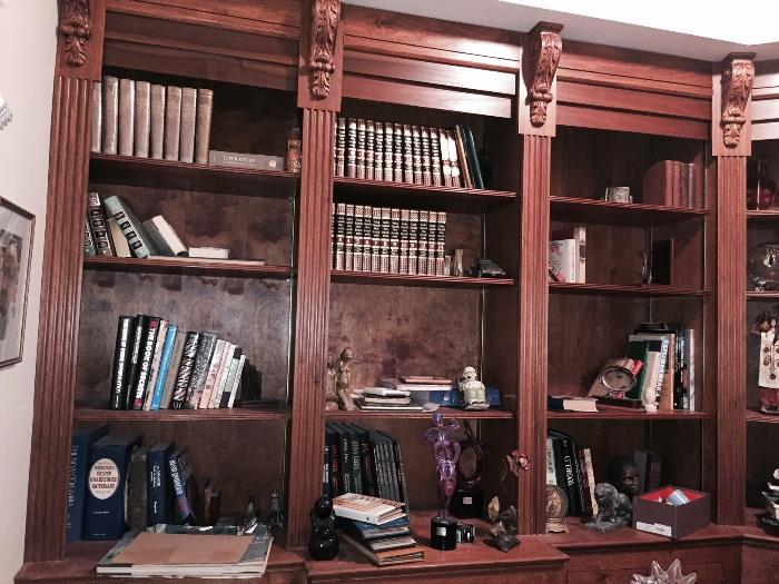 ASSORTED BOOKS & KNICK KNACKS