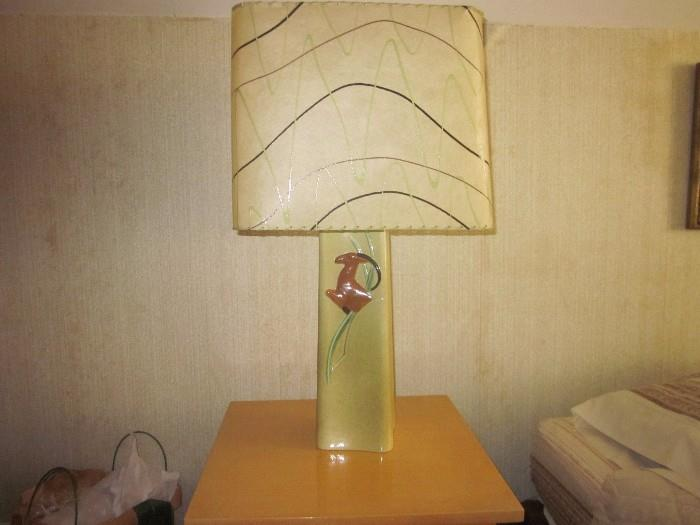 Pair of Mid-Century Lamps.   Excellent Condition.