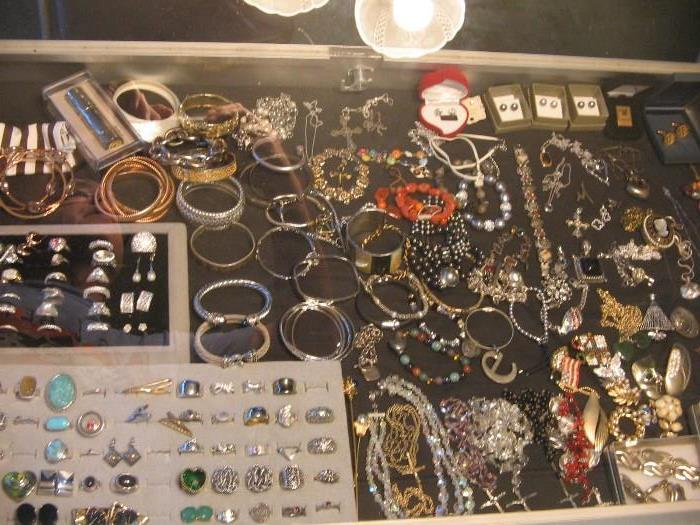 Costume Jewelry. Some Sterling