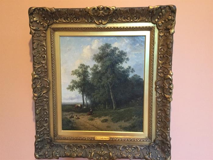 HADSON SCHOOL ANTIQUE PAINTING